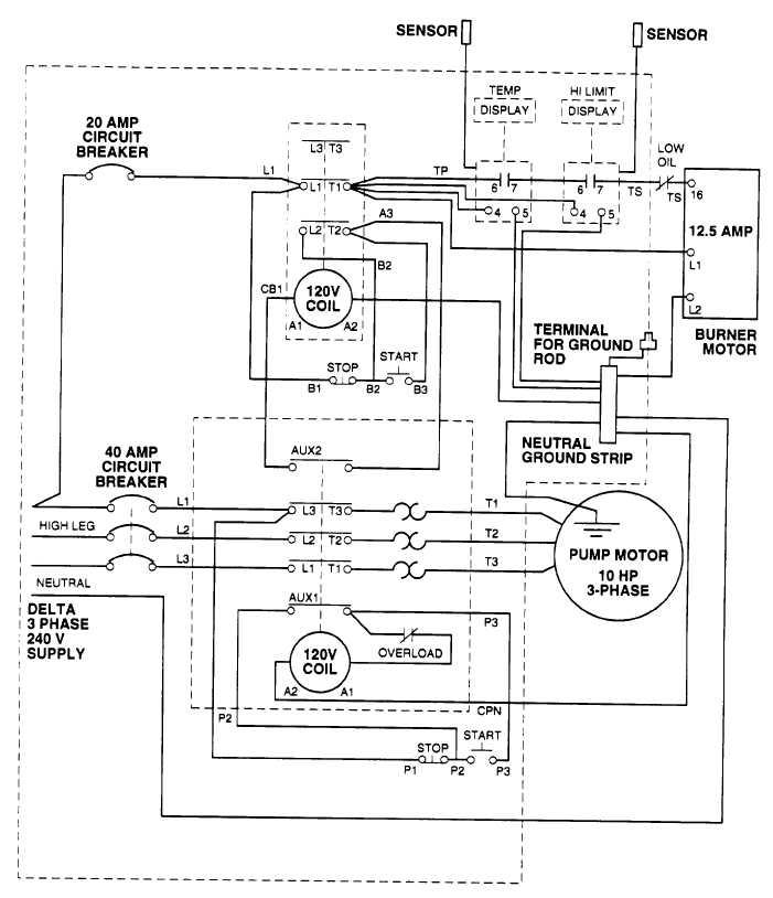 heat exchanger wiring schematic