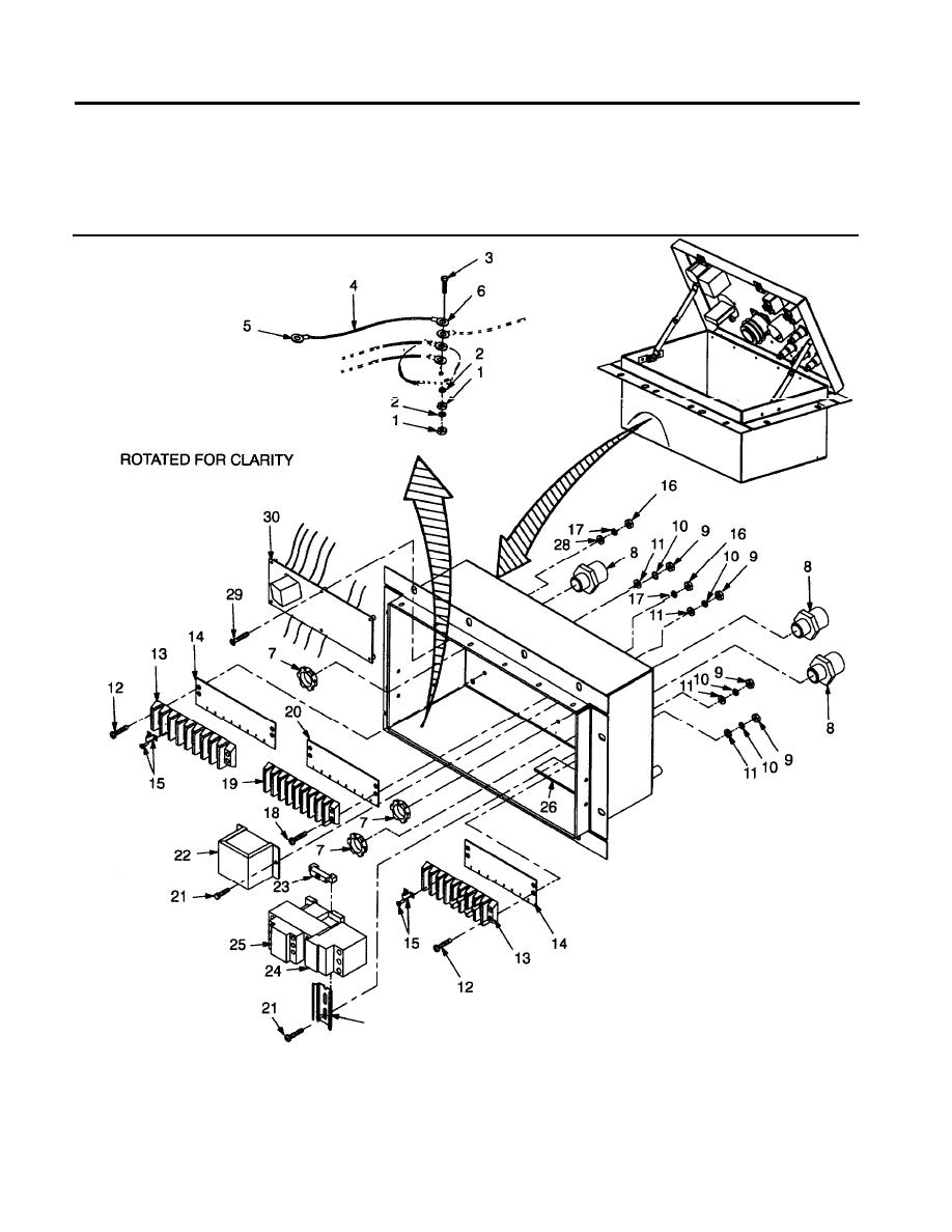 figure 12  ground wire  terminal strips  transformer and